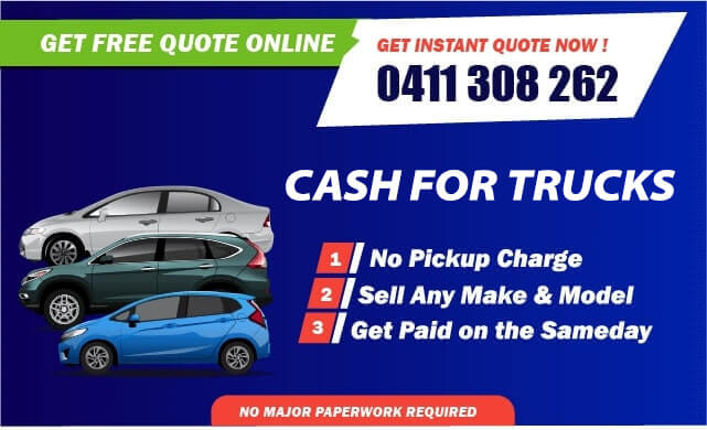 Cash For Mitsubishi Trucks