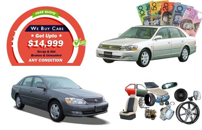 Toyota Avalon Wreckers And Second-Hand Parts