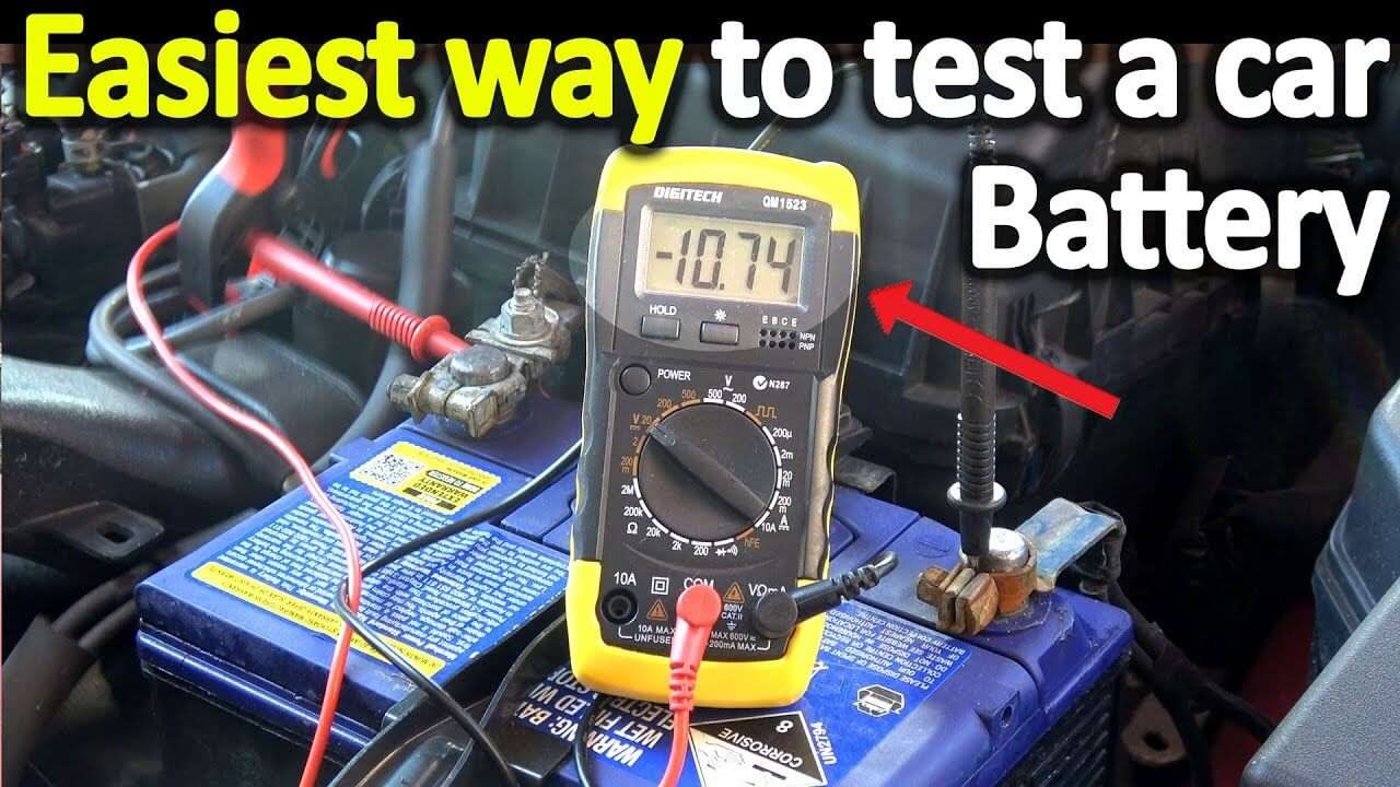 How To Check Car Battery Health