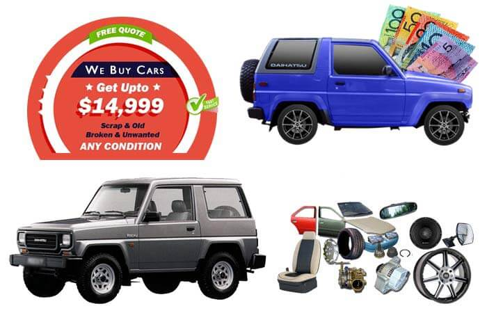 Daihatsu Feroza Wreckers and Parts