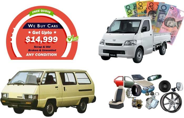 Toyota Townace Wreckers And Used Parts