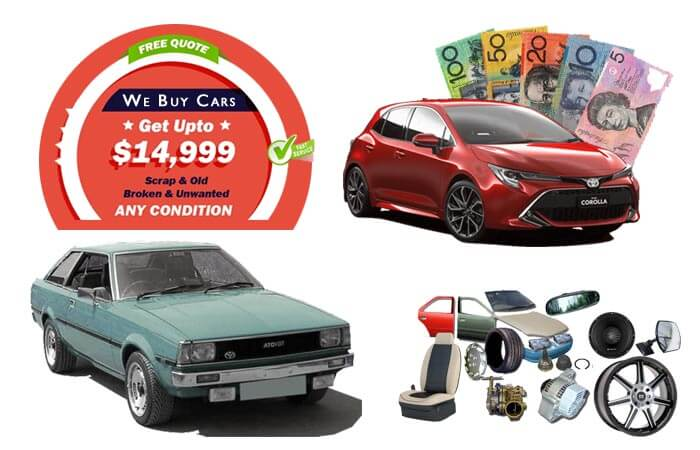 Toyota Corolla Wreckers and Parts