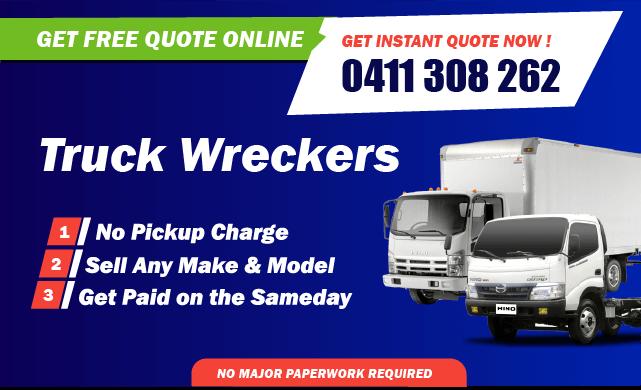 Daewoo truck wreckers