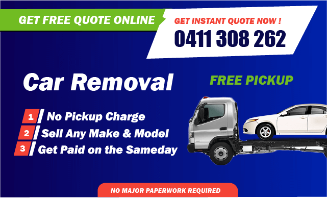 holden car removal